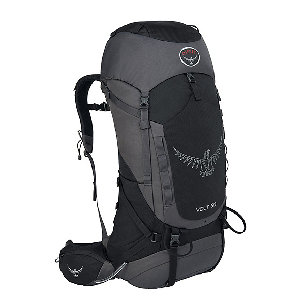 Osprey Volt 60 Backpack, Tar Black, 600
