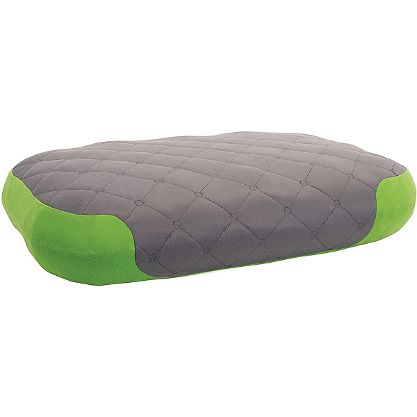 Sea to Summit Aeros Premium Deluxe Pillow 2017, Grey-Green, 600