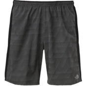 The North Face NSR 7 Inch Mens Short, Asphalt Grey Reflect Print, medium