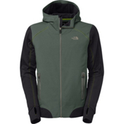 The North Face Kilowatt Mens Jacket, Spruce Green-TNF Black, medium