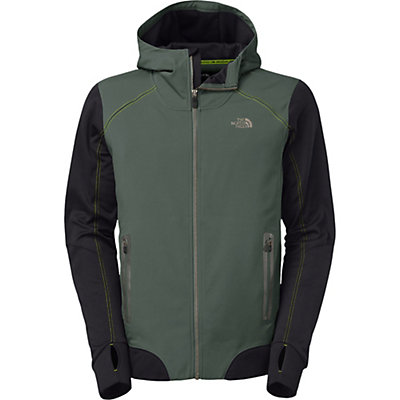The North Face Kilowatt Mens Jacket, Spruce Green-TNF Black, viewer