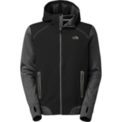 The North Face Kilowatt Mens Jacket, TNF Black-Asphalt Grey, medium