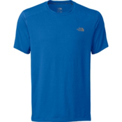 The North Face Kilowatt Short Sleeve Crew, Bomber Blue Heather, medium