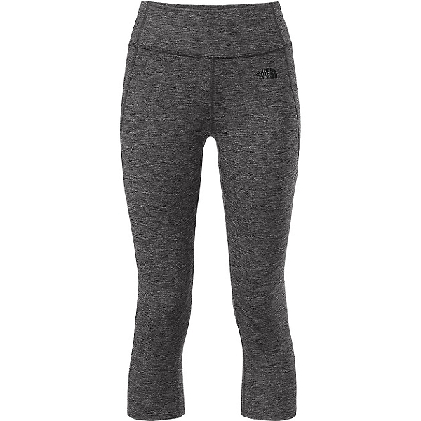 The North Face Motivation Crop Leggings, TNF Dark Grey Heather, 600
