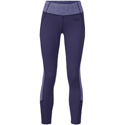 The North Face Women's Motivation Colorblock Printed Legging, Patriot Blue-Patriot Blue Heat, 256