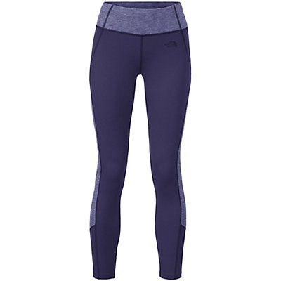The North Face Women's Motivation Colorblock Printed Legging, Patriot Blue-Patriot Blue Heat, viewer