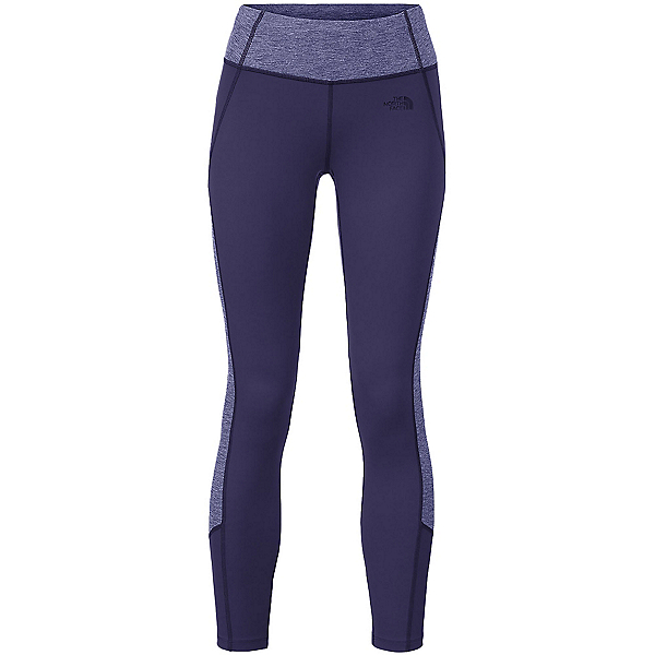 The North Face Women's Motivation Colorblock Printed Legging (Previous Season), Patriot Blue-Patriot Blue Heat, 600