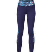 The North Face Women's Motivation Colorblock Printed Legging, Patriot Blue Gem Party Print, medium
