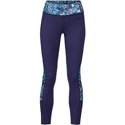 The North Face Women's Motivation Colorblock Printed Legging, Patriot Blue Gem Party Print, 256