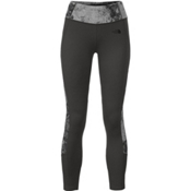 The North Face Women's Motivation Colorblock Printed Legging, Asphalt Grey-Asphalt Grey Foss, medium