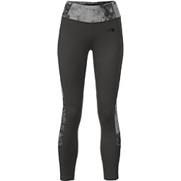 The North Face Women's Motivation Colorblock Printed Legging, Asphalt Grey-Asphalt Grey Foss, 256