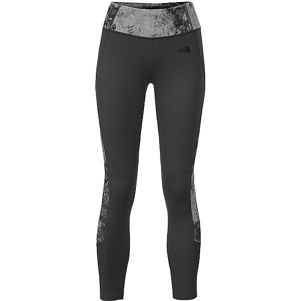 The North Face Women's Motivation Colorblock Printed Legging, Asphalt Grey-Asphalt Grey Foss, 600