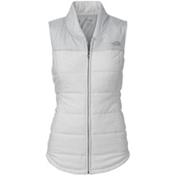 The North Face Pseudio Womens Vest, TNF Light Grey Heather-High Ri, medium