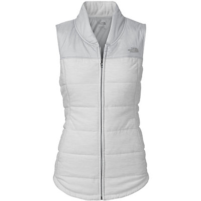 The North Face Pseudio Womens Vest, TNF Light Grey Heather-High Ri, viewer