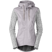 The North Face Dyvinity Womens Jacket, Metallic Silver, medium