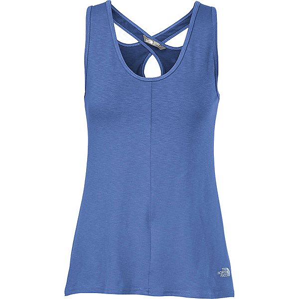 The North Face Breezeback Knit Tank, Coastline Blue, 600