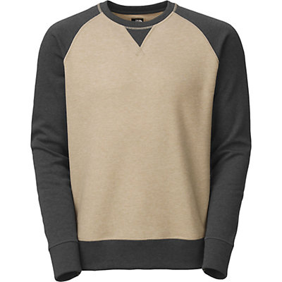 The North Face Slacker Crew, Dune Beige Heather, viewer