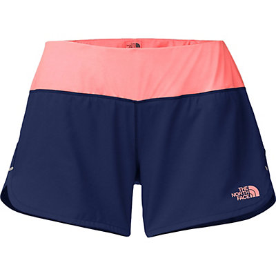 The North Face MA-X Womens Shorts, Patriot Blue-Neon Peach, viewer