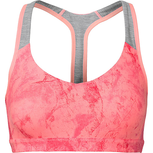 The North Face MA-X Womens Sports Bra, Neon Peach, 600