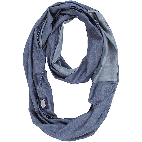 The North Face Breeze Back Scarf, Indigo Chambray, 600