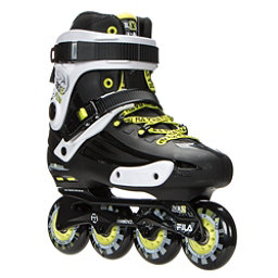 Fila Skates NRK Fun Inline Skates, Black-Yellow, 256