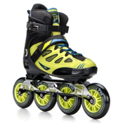 Fila Skates Ghibli Inline Skates, Black-Lime-Blue, medium