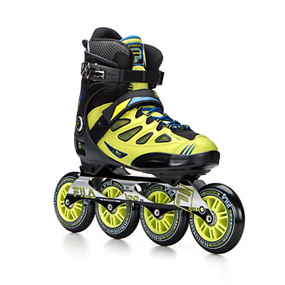 Fila Skates Ghibli Inline Skates 2016, Black-Lime-Blue, viewer