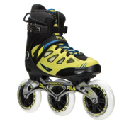 Fila Skates Ghibli Verso Inline Skates, Black-Lime-Blue, medium