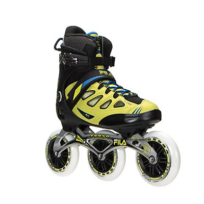 Fila Skates Ghibli Verso Inline Skates, Black-Lime-Blue, viewer