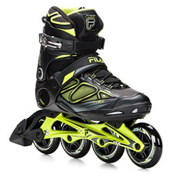 Fila Skates Primo Air Flow Inline Skates, Black-Lime, 256