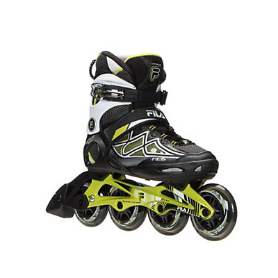 Fila Skates Primo Air Flow Womens Inline Skates 2016, Black-Lime, viewer