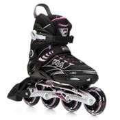 Fila Skates Primo ALU Womens Inline Skates 2016, Black-Violet, medium