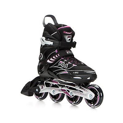 Fila Skates Primo ALU Womens Inline Skates, Black-Violet, viewer