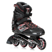 Fila Skates Primo Comp Inline Skates, Black-Red, medium