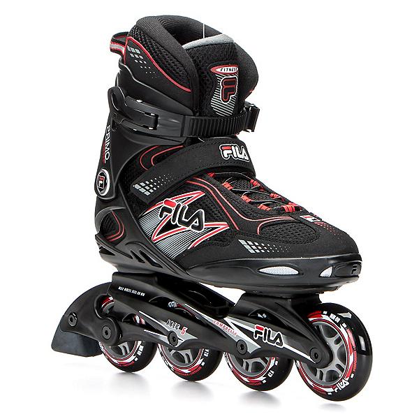 Fila Skates Primo Comp Inline Skates, Black-Red, 600