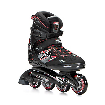 Fila Skates Primo Comp Inline Skates 2016, Black-Red, viewer