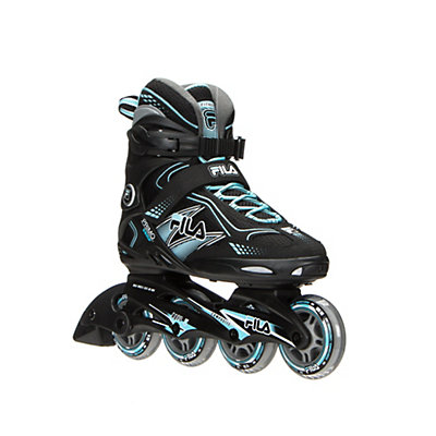 Fila Skates Primo Comp Womens Inline Skates 2016, Black-Light Blue, viewer