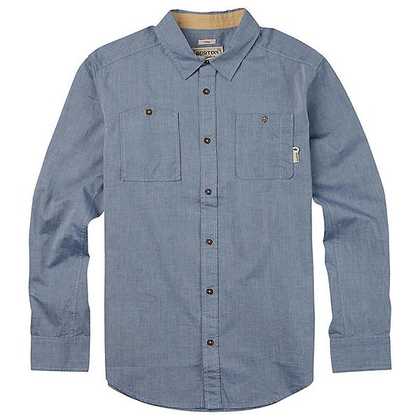 Burton Glade Long Sleeve Mens Shirt, Light Chambray, 600