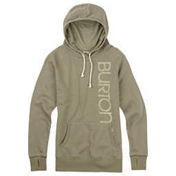 Burton Antidote Fleece Pullover Womens Hoodie, Vetiver Heather, 256