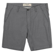Burton Kingfield Mens Short, True Black Heather, medium