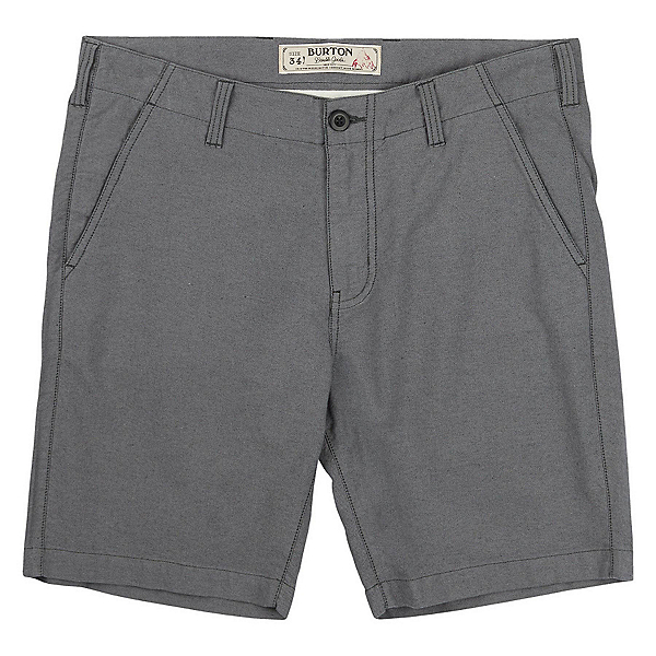 Burton Kingfield Mens Shorts, True Black Heather, 600