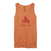 Burton Stamped Mountain Mens Tank Top, Apricot Heather, medium