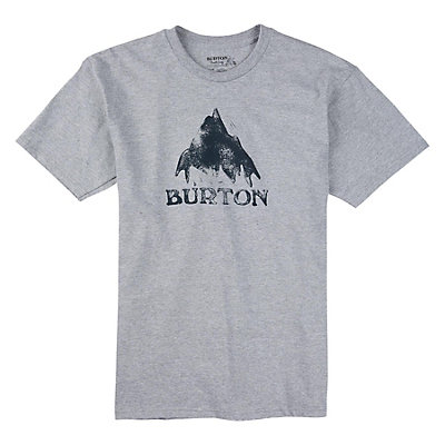 Burton Stamped Mountain Mens T-Shirt, , viewer