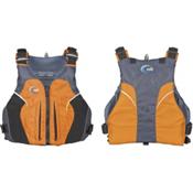 MTI Java Adult Kayak Life Jacket, Mango-Dark Gray, medium