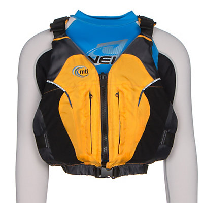 MTI Java Adult Kayak Life Jacket, Mango-Dark Gray, viewer