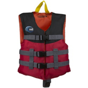 MTI Child Livery Life Jacket, Red, medium