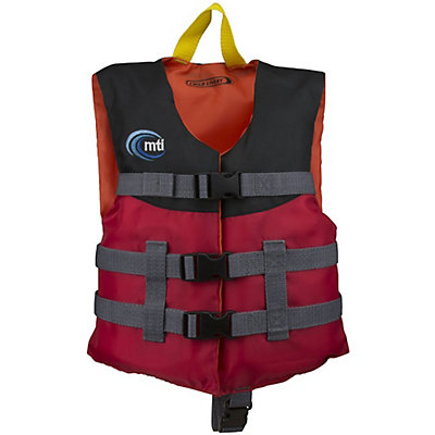 MTI Child Livery Life Jacket, Red, viewer