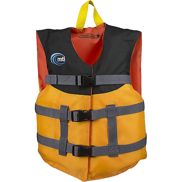 MTI Youth Livery Life Jacket, Mango, 600