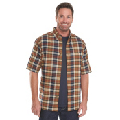 Woolrich Timberline Madras Plaid Mens Shirt, Chimney, medium