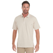 Woolrich First Forks 1-Pocket Polo Mens Shirt, Stone, medium